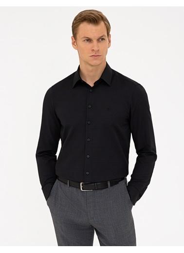 Pierre Cardin G021Gl004.000.1294466.Vr046 Gömlek Uzunk Siyah